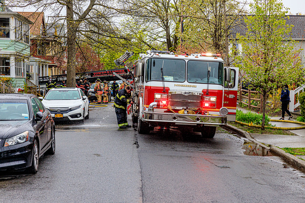 Residential Structure Fire - Manitou Ave - City of Poughkeepsie  Fire Department - 4/26/2020