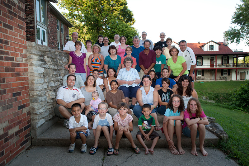 Hoover Family At Camp Madison