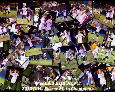 G V soccer Medfield Collages
