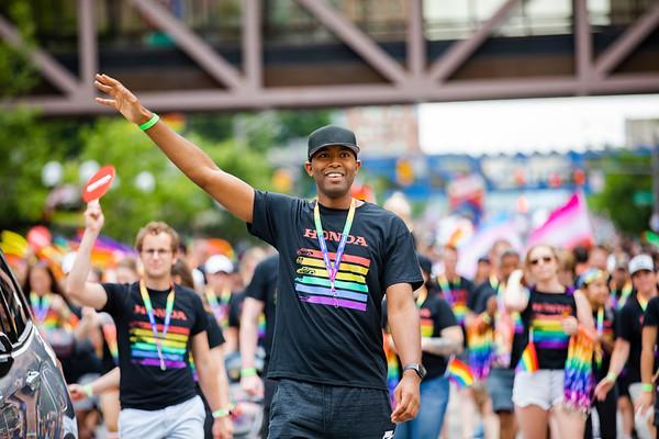 Honda at Pride for RPA