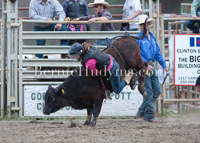 Junior Steer Riding- Clinton 2012