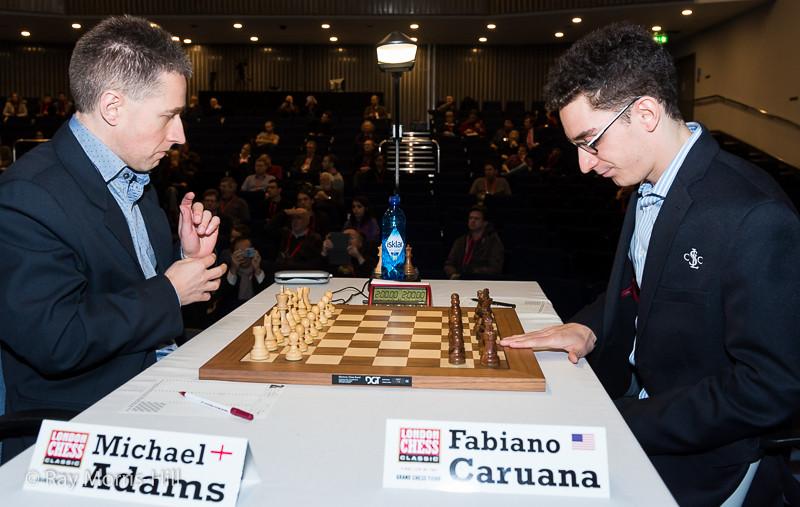 Michael Adams vs Fabiano Caruana