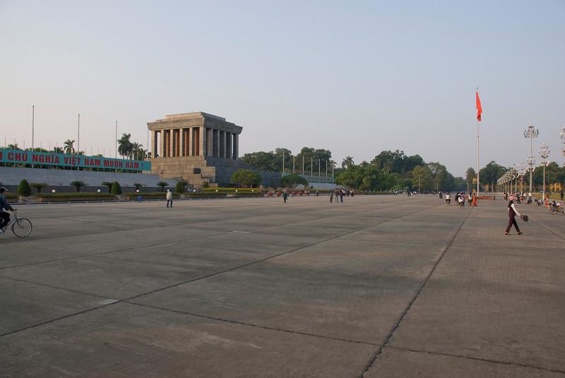 Ho Chi Minh Square in Hanoi, Vietnam