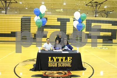 2015 Natalie Cortez College Signing