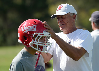 2015-09-02 Kent Denver head football coach Scott Yates