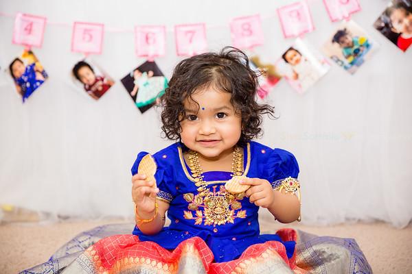 Sitara 1st Birthday