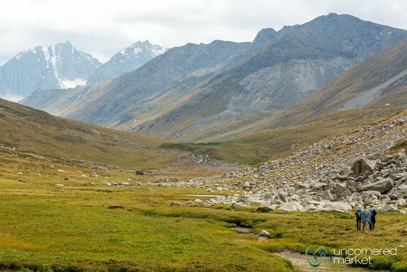 Jyrgalan Trek, Day 1 - Kyrgyzstan