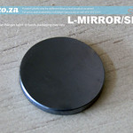 SKU: L-MIRROR/SI/25, Φ25mm Silicon Reflection Mirror Plated with Multi-layer Dielectric Film for CO2 Laser Beam