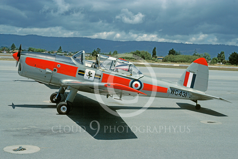 de Havilland Chipmunk 00003 de Havilland Chipmunk British RAF WC431 28 May 1990 by Stephen W D Wolf.JPG