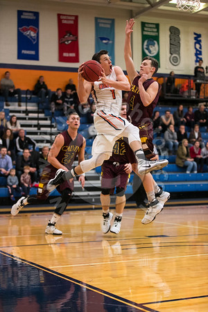 Wheaton College Men's Basketball vs Calvin College, December 10, 2016