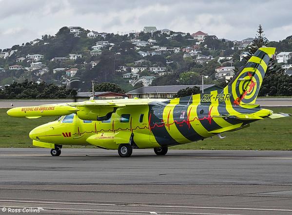 Westpac Air Ambulance at Wellington 2017