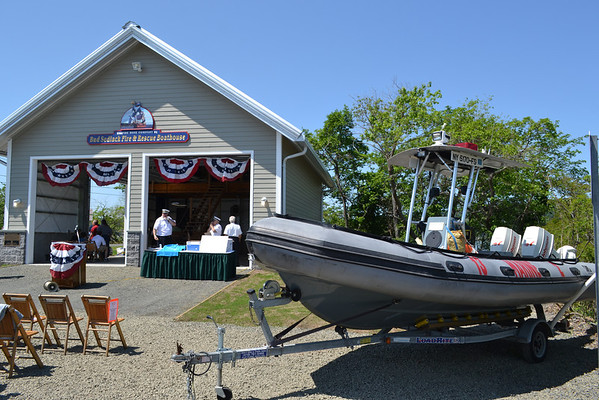 Bud Sedlack Fire and Rescue Boathouse Dedication