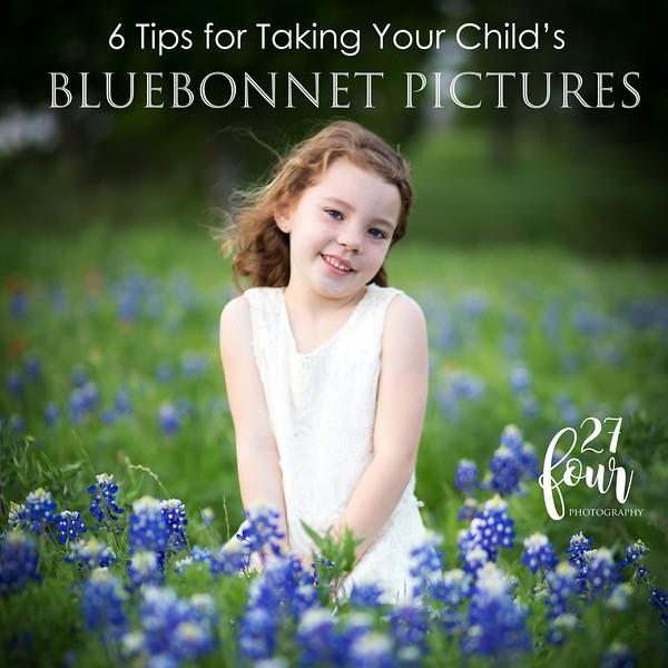 Bluebonnet Photo Tips