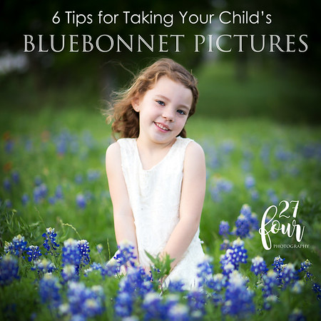 Bluebonnet Photo Tips