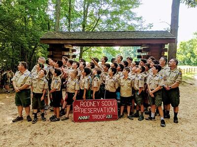 2019 Summer Camp at Rodney