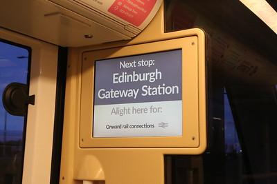 Edinburgh Gateway Opening 11th December 2016