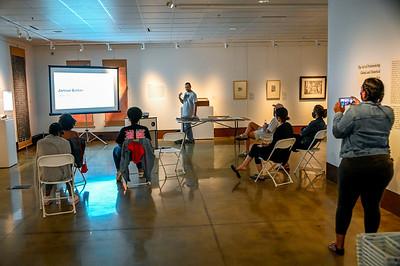 Art Talk Jamaal Barber