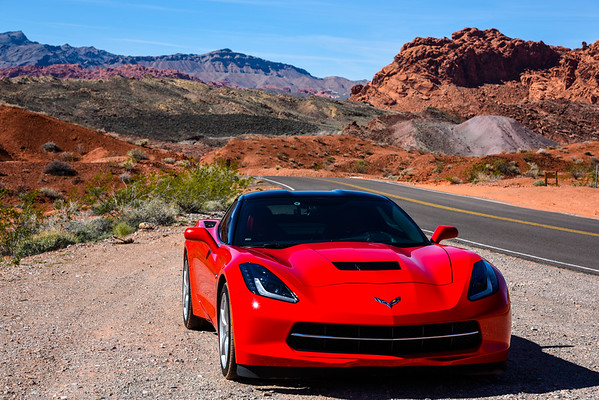 Valley Of Fire Photoshoot