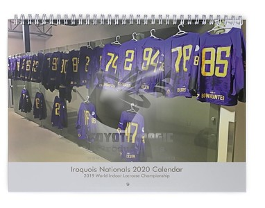 2020 Iroquois Nationals Calendar