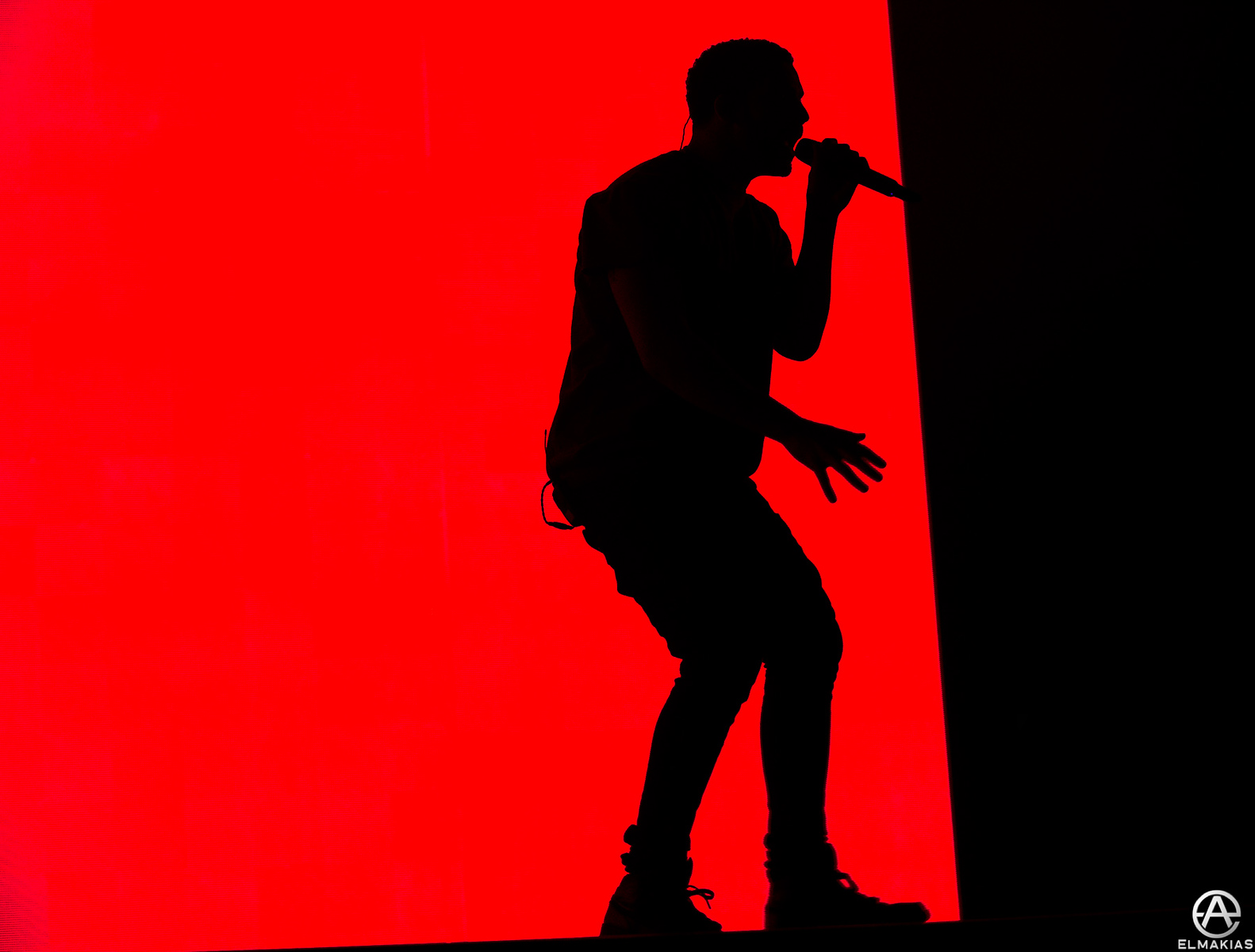Drake live at Coachella Festival in Indio, California on April 19th, 2015