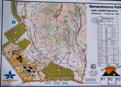 15 May 2019 World Orienteering Day Mt Ainslie