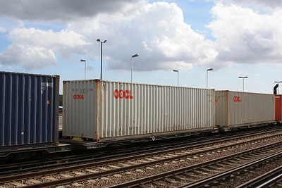 FLA - Bogie Low Platform Container Flat