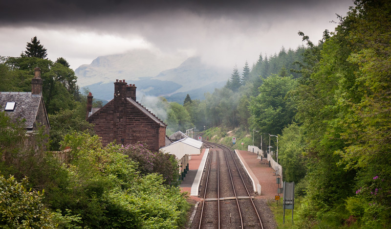 Dalmally railway station
