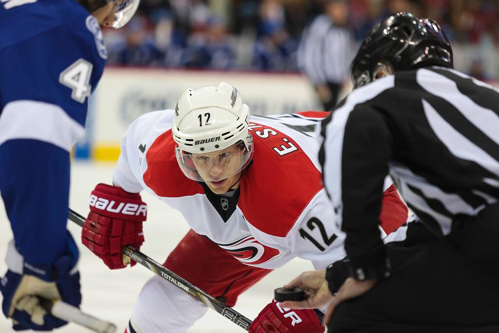 NHL 2013 - November - Carolina Hurricanes vs Tampa Bay Lightnings
