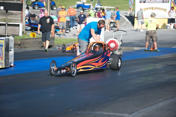On The Track - Junior Dragster