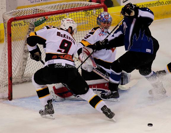 Cincinnati Cyclones Vs Idaho Steelheads Game 5 of the East Coast Hockey League's Kelly Cup Final 5-21-10 Cyclones (2-1)