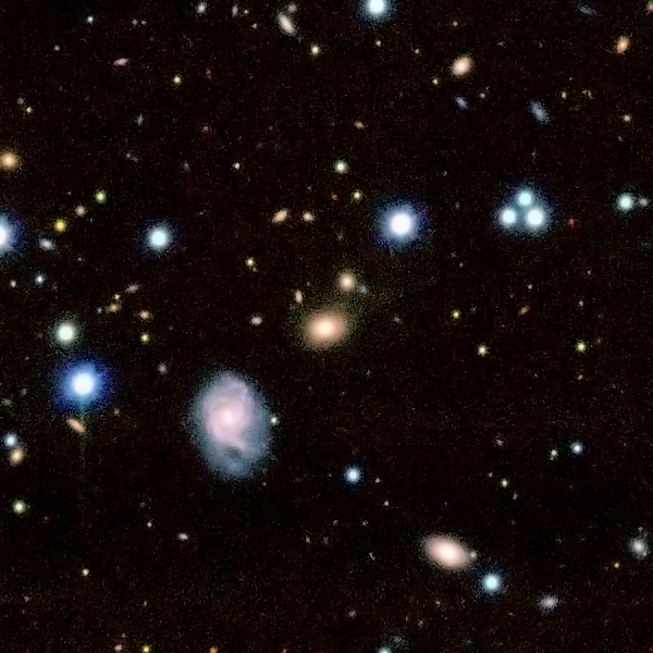 AstroQuest Example Galaxy