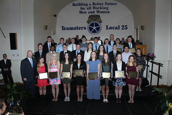 Teamsters Local 25 Scholorship Awards - May 20, 2018