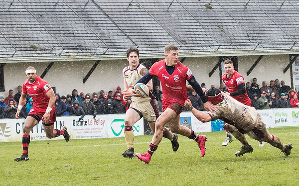 Jersey Reds V Doncaster Knights  B&I Cup 30 March 18