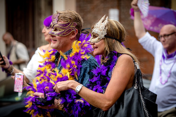 10.20 Carl Mack's Mardi Gras Museum Party and Second Line