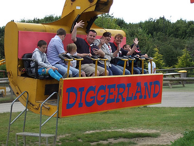 Beavers & Cubs diggerland 13th july 2008
