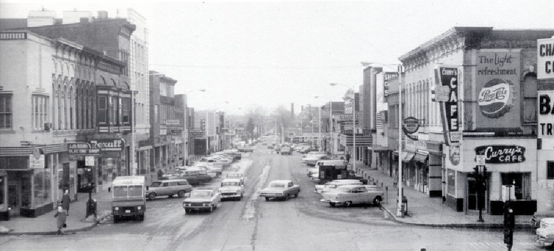 Downtown Look West 1964