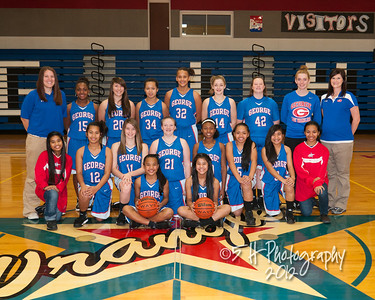 GJH Girls Basketball 12-13