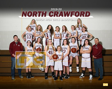 North Crawford JH girls basketball GBB1920