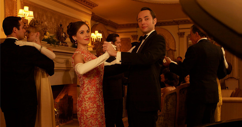 . Trudy Campbell (Alison Brie) and Pete Campbell (Vincent Kartheiser) - Mad Men - Season 6. (Photo by Frank Ockenfels/AMC)