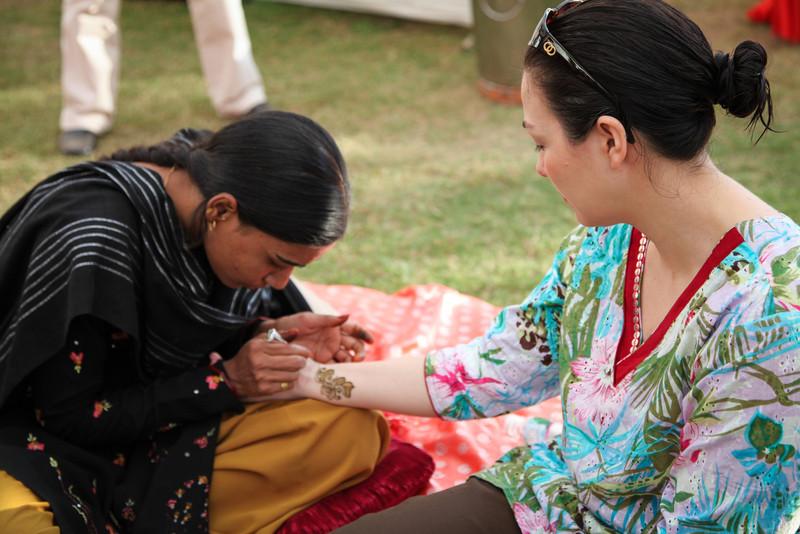 More henna.
