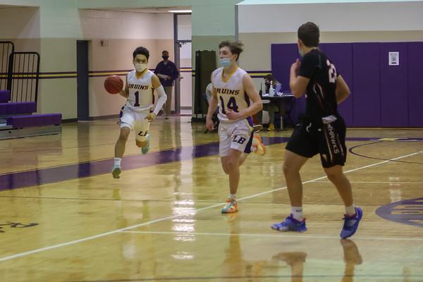 Boys JV Basketball v Madison 12/23/20
