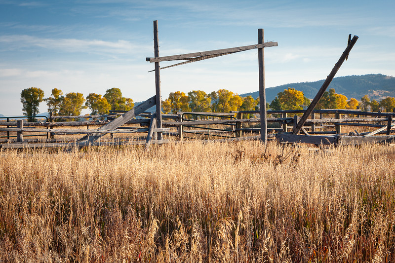Corral, Jackson Hole, Wyoming