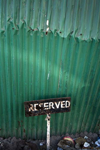 Reserved Space