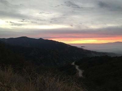 3 Peaks Along Azusa Ridge