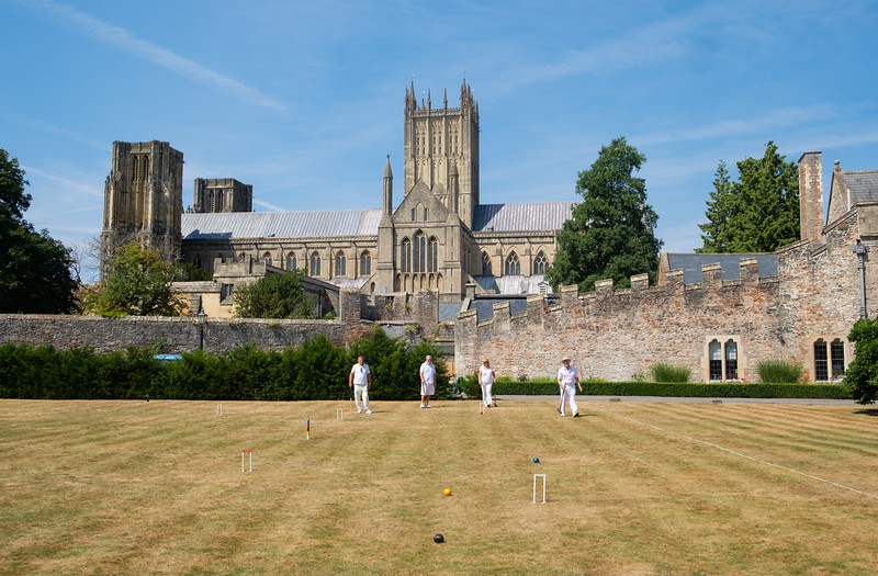 Croquet at the Bishop's Palace