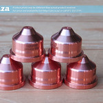 SKU: P-PMX-NOZZLE/420169, Plasma Consumable #420169 ≤65A Nozzles(5) Compatible with Hypertherm® Powermax® 125A System