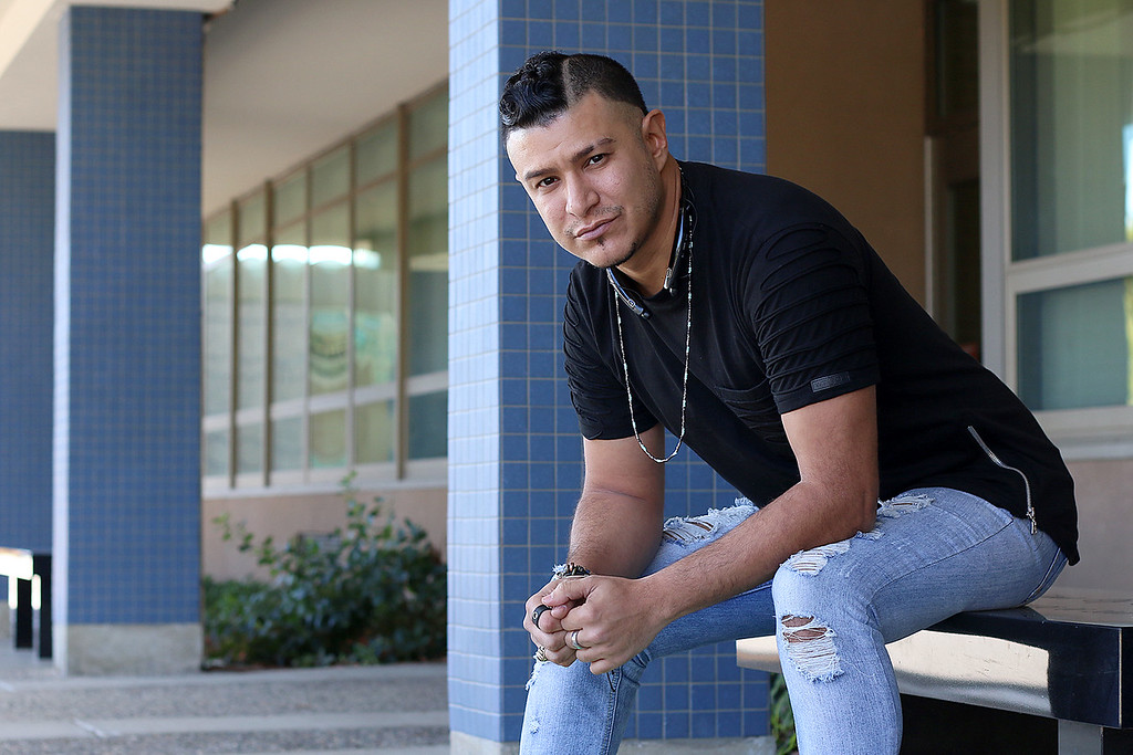 . Jeff Xavier who was shot four time at the Pulse night club in Orlando, Florida was visiting family in friends in Leominster on Friday, October 13, 2017. He once live in Leominster and attended Leominster High School for two years. SENTINEL & ENTERPRISE/JOHN LOVE
