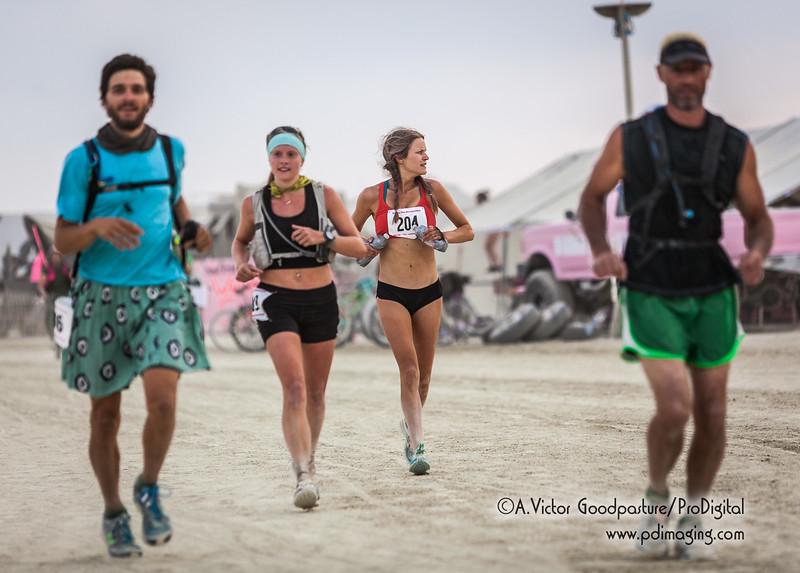 Burners runnning the 50K Ultramarathon.