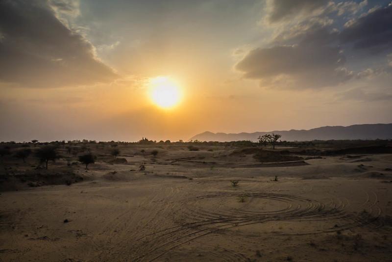 Pushkar Desert, India