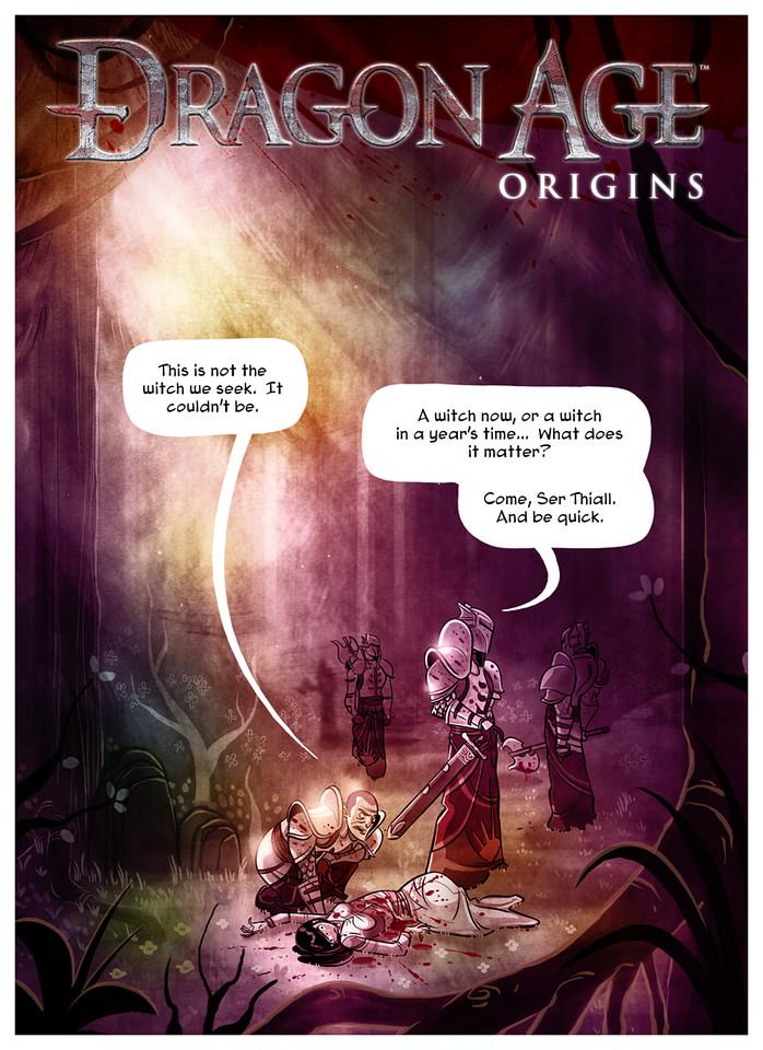 Dragon Age Origins Page 1
